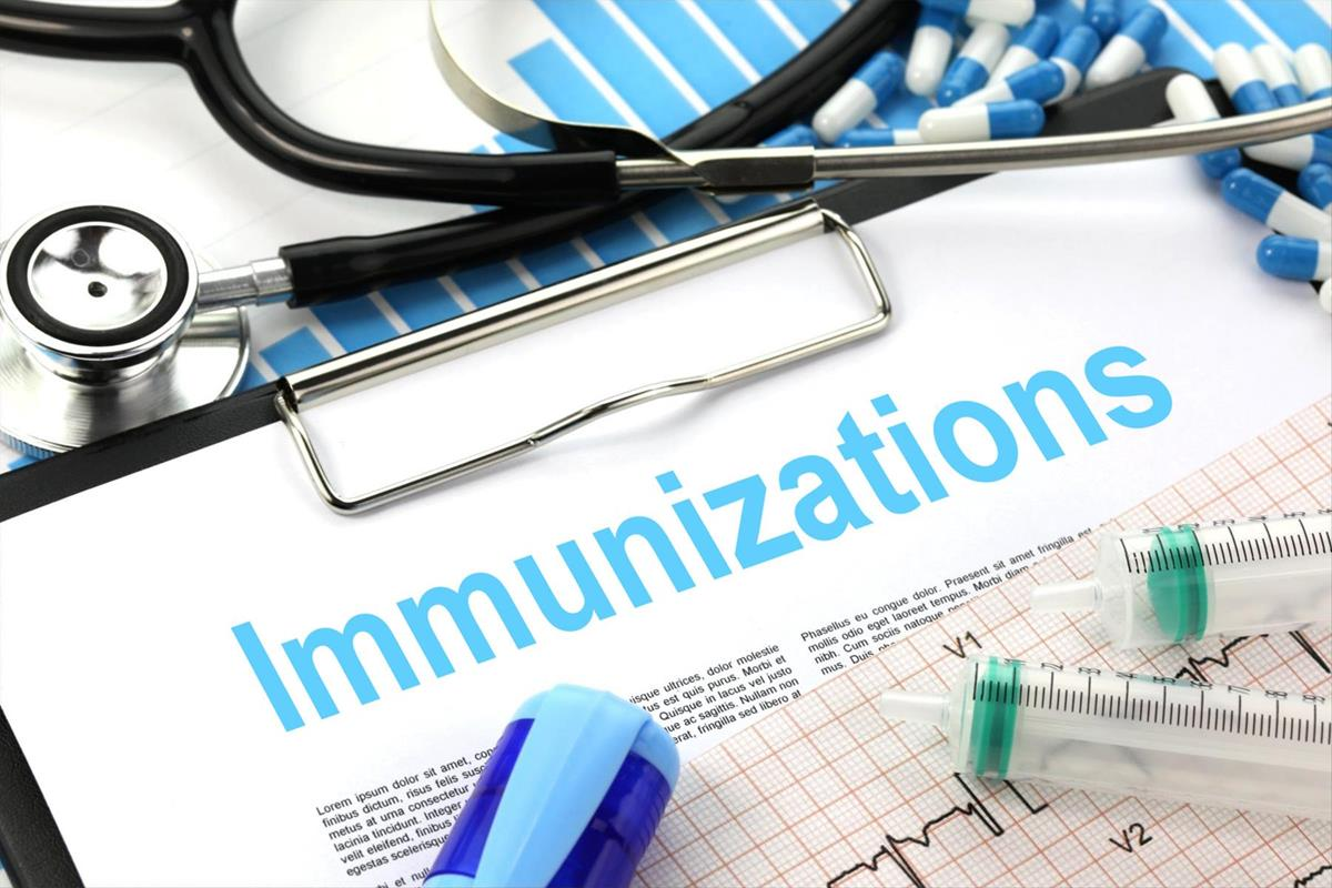 This is the image for the news article titled Immunizations information